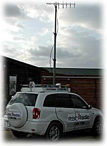 ラジオの生放送にハーブ講座