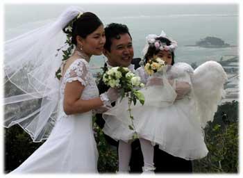 おめでとう!くるくまで結婚式
