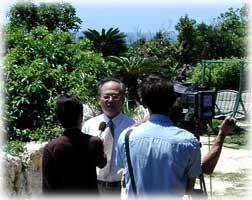 郵政公社の副総裁が表敬訪問