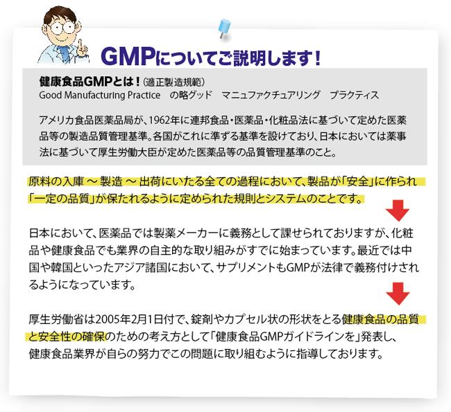 健康食品GMP適合認定取得!